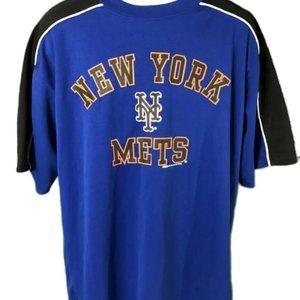 MLB New York Mets Pullover Shirt Stitches